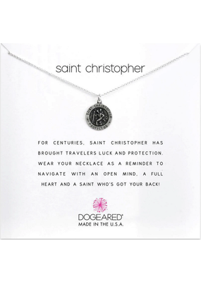 Dogeared Saint Christopher Necklace