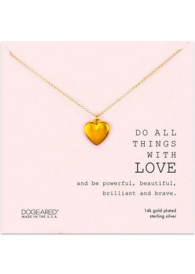 Dogeared Do all Things Necklace GF