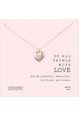 Dogeared Do all Things Necklace SS