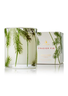 Pine Needle design candle