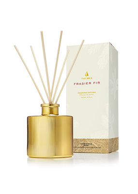 Thymes Gilded Reed Frasier Fir Diffuser Gold