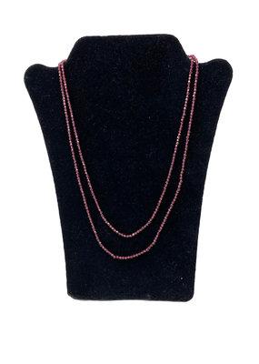 LeLa designs Lg beaded neckalce