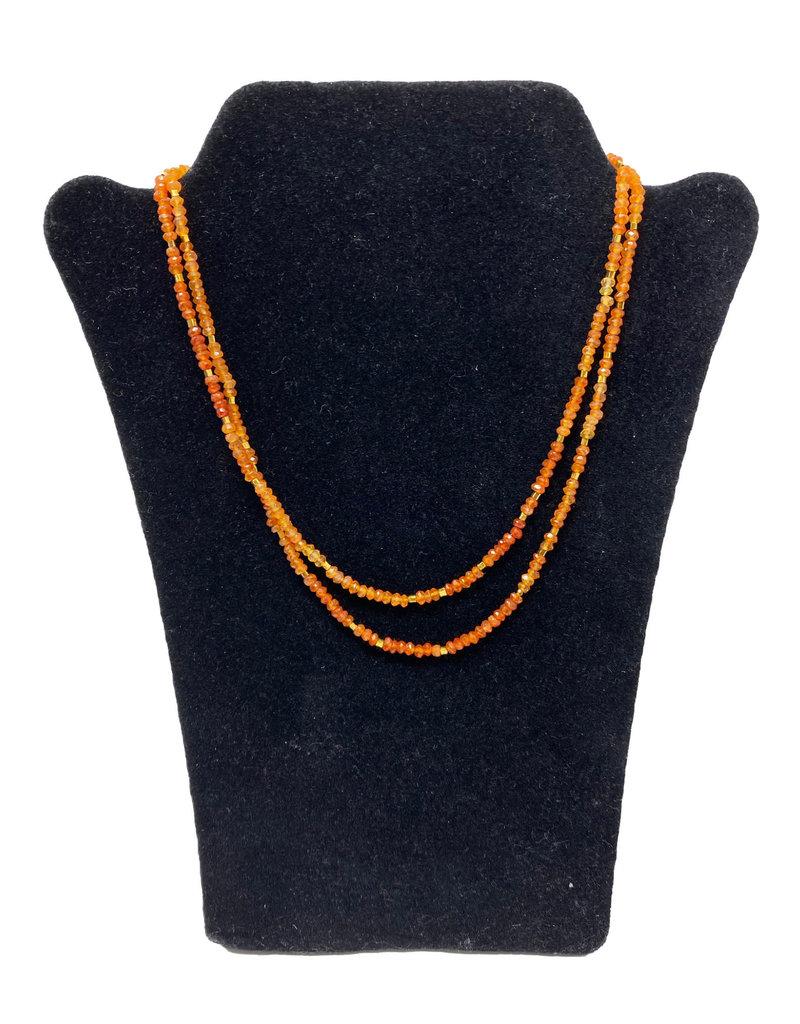 Lela designs Hessonite Necklace