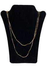 Lela designs Pink Tourmaline Necklace