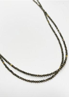 LeLa designs pyrite& gold space