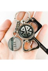 Pieces of Me Round Key Chain
