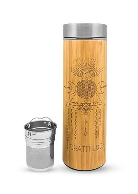 Bhavana Bottle Bhavana Bottle Bamboo H2O Bottle 16.9 oz