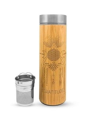 Bhavana Bottle Bhavana Bottle Bamboo H2O Bottle 16.9 oz