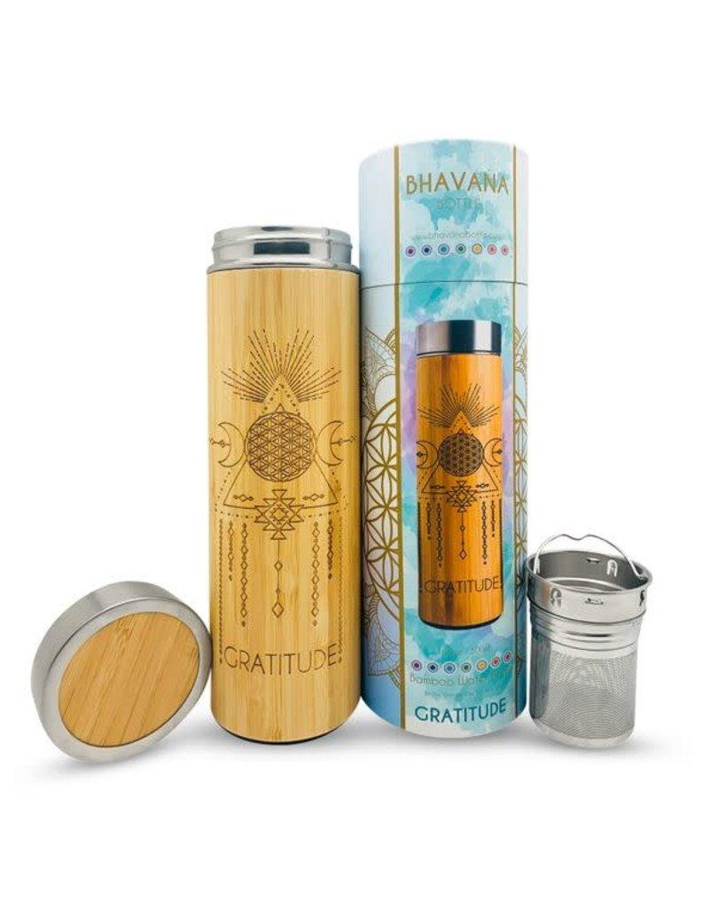 Bhavana Bottle Bamboo H2O Bottle 16.9 oz