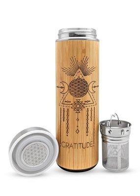 Bhavana Bottle Bamboo H2O Bottle 17.9 oz