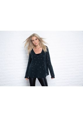 Wooden Ships Cosmos Lightweight V Sweater