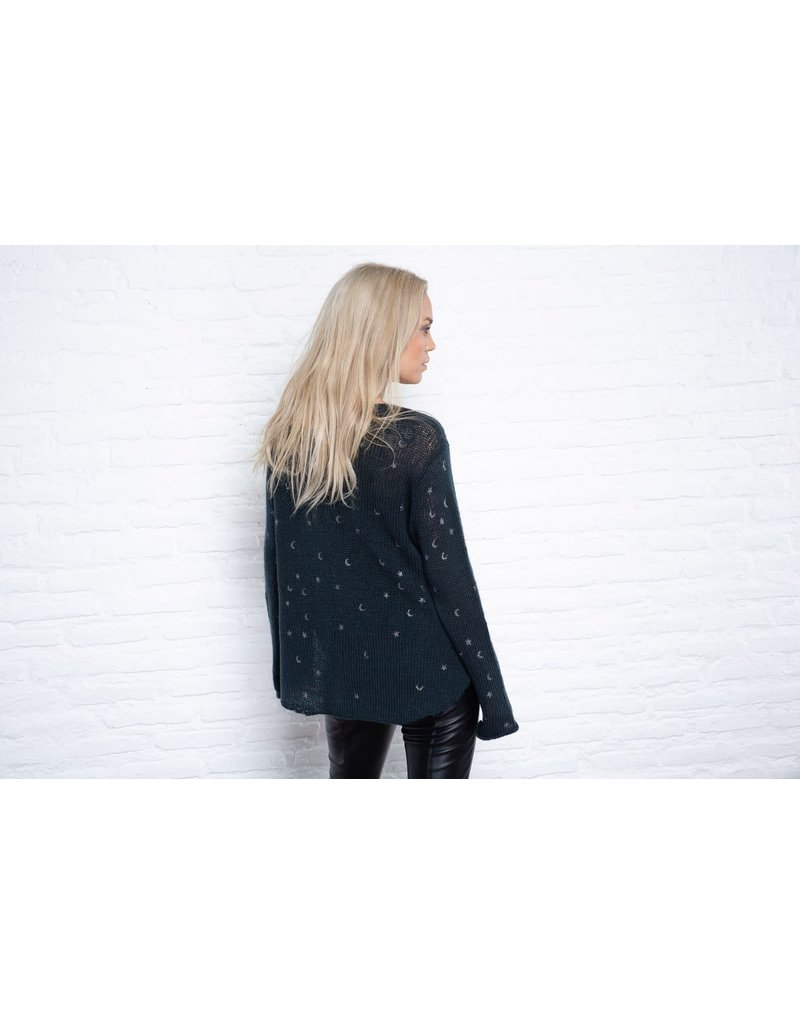 Wooden ships Wooden Ships Cosmos Lightweight V Sweater