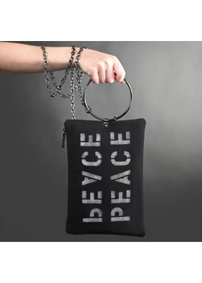 KBD Studio Peace Canvas Ring Purse