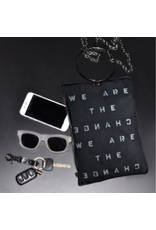 KBD Studio We are the Change Canvas Ring Purse