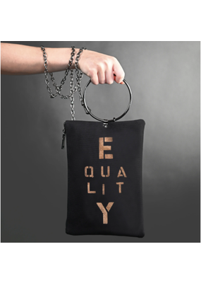 KBD Studio Equality Canvas Ring Purse