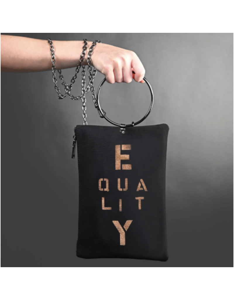 KBD Studio Equality Canvas Ring Purse
