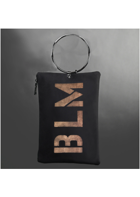 KBD Studio BLM Canvas Ring Purse