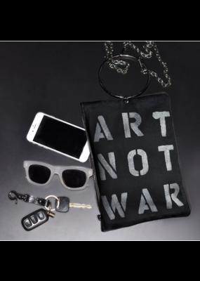 KBD Studio Art Not War Canvas Ring Purse