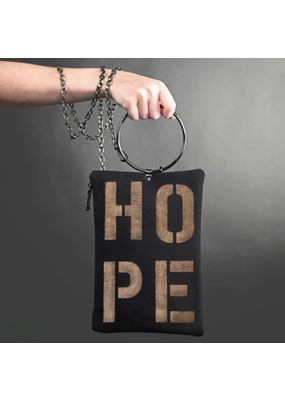 KBD Studio Hope Canvas Ring Purse