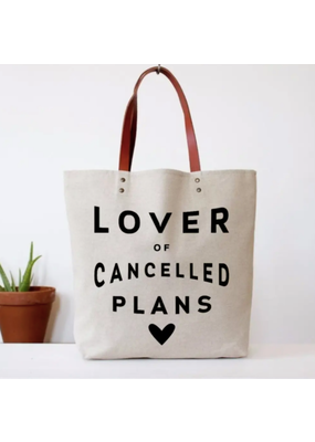 Fun Club Lover of Cancelled Plans Tote
