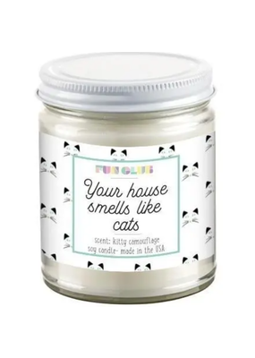 Fun Club Fun Club Your House Smells Like Cats Candle