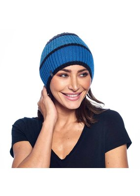 Shupaca Color Block Beanie