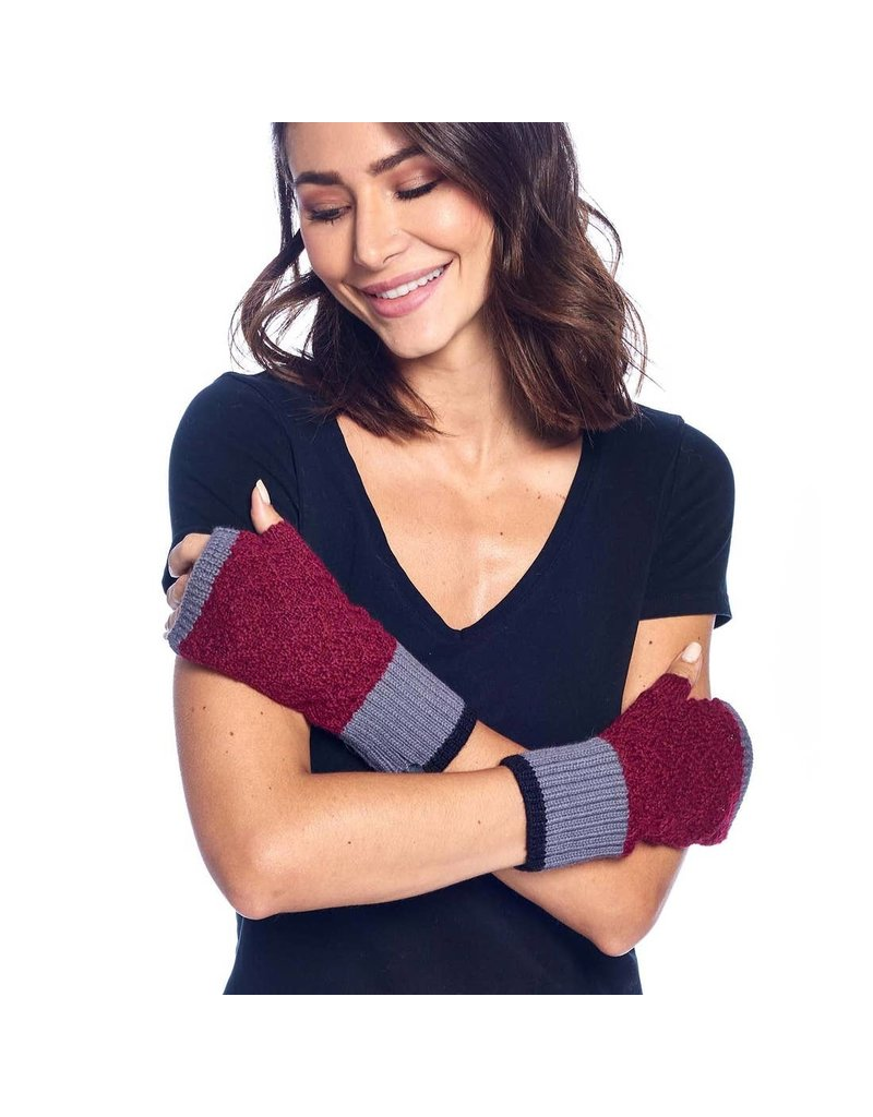 Shupaca Alpaca Color Block Gloves