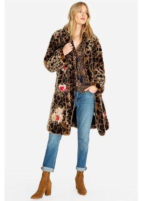 Eeshal leopard coat