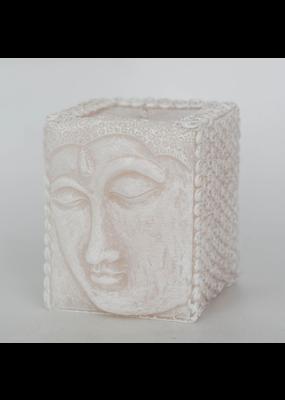 Alo Candles Buddha Cube Candle - White