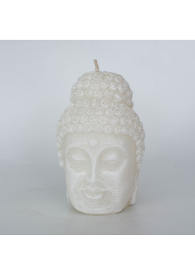 Alo Candles Alo Candles Buddha Face Candle - White