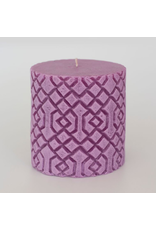 Alo Candles Diamond Pattern Candle- Medium