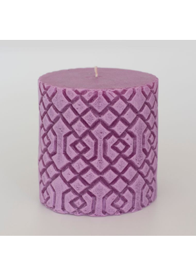 Alo Candles Diamond Pattern Candle- Medium