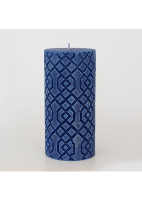 Alo Candles Diamond Pattern Candle- Tall