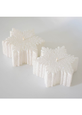 Alo Candles Alo Candles Snowflake Candle (Set of 2 pieces)