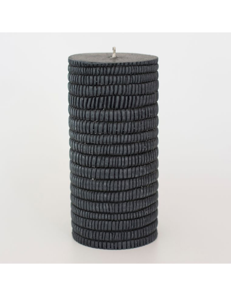 Alo Candles Stone Pattern Candle- Tall