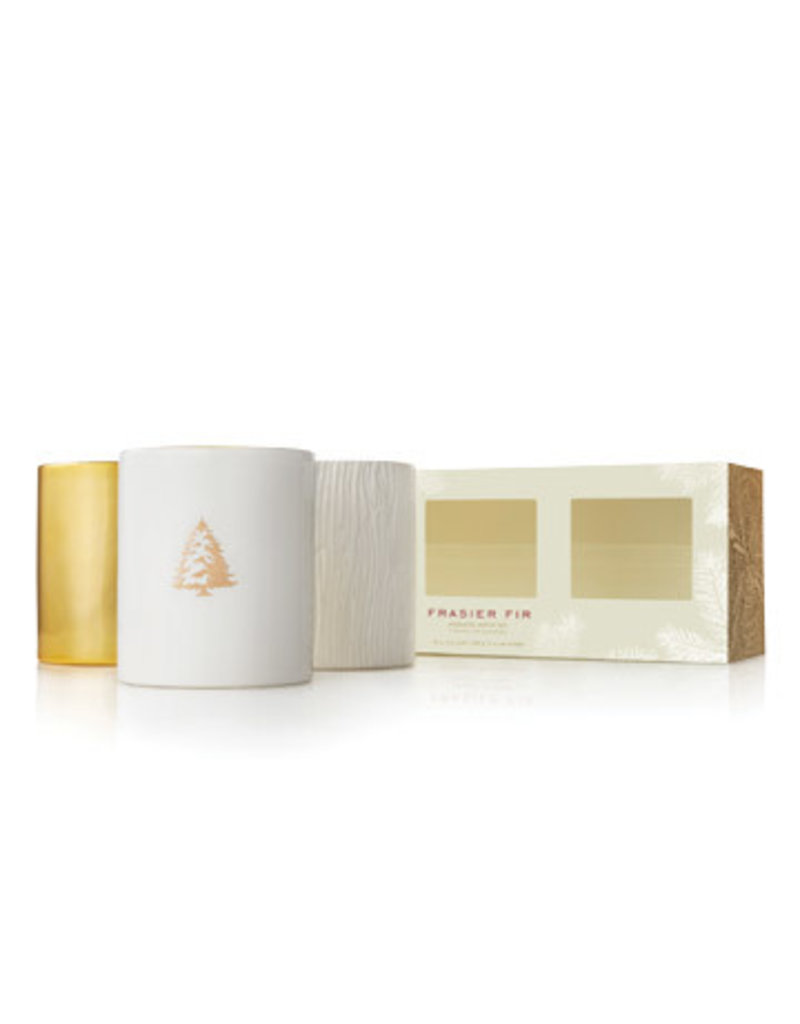 Thymes Gilded Trio Candle Set