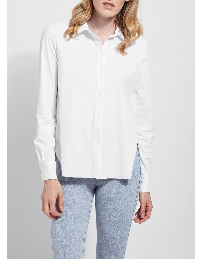 Lysse Connie Slim Button Down