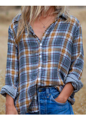 CP Shades Romy Plaid Blouse