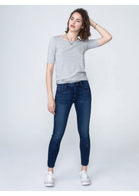 Unpublished Denim Kora Mid Rise Skinny in Blue Star