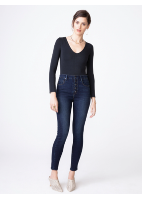 Denim Ella Sky-high Rise Skinny in Darkstar