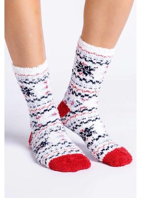 PJ Salvage PJ Salvage Fuzzy Socks