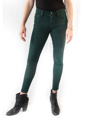 Unpublished Denim Kora Mid Rise Skinny in Evergreen