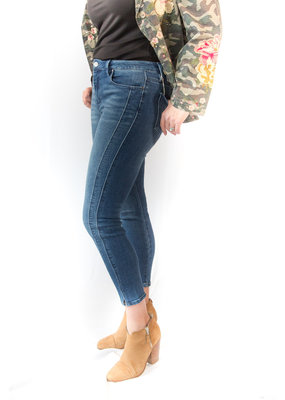 Unpublished Denim Olivia High Rise Skinny in Vista