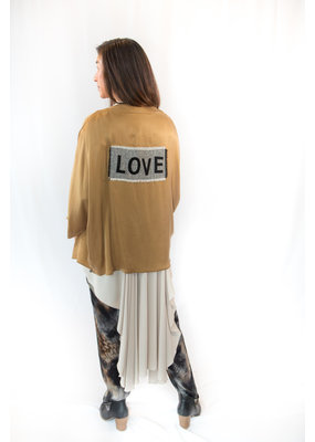 Que Neel Que Neel Gold Love Jacket