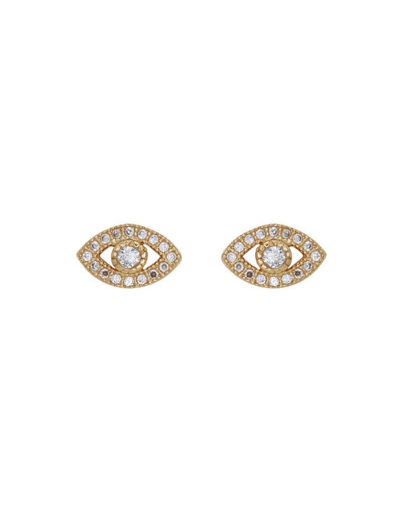Marrin Costello Evil Eye Studs