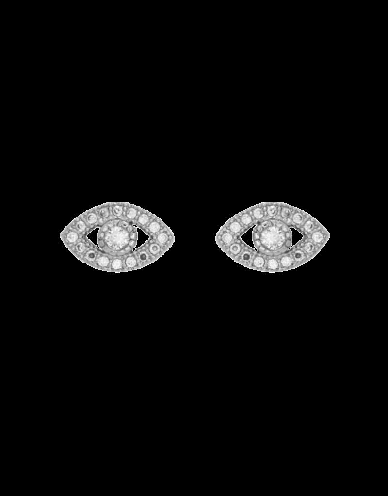 Marrin Costello Evil Eye Studs