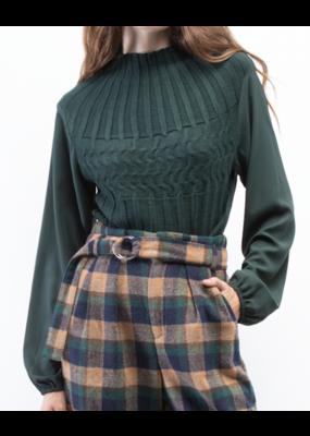 Oat Ny Blousy Turtleneck Sweater