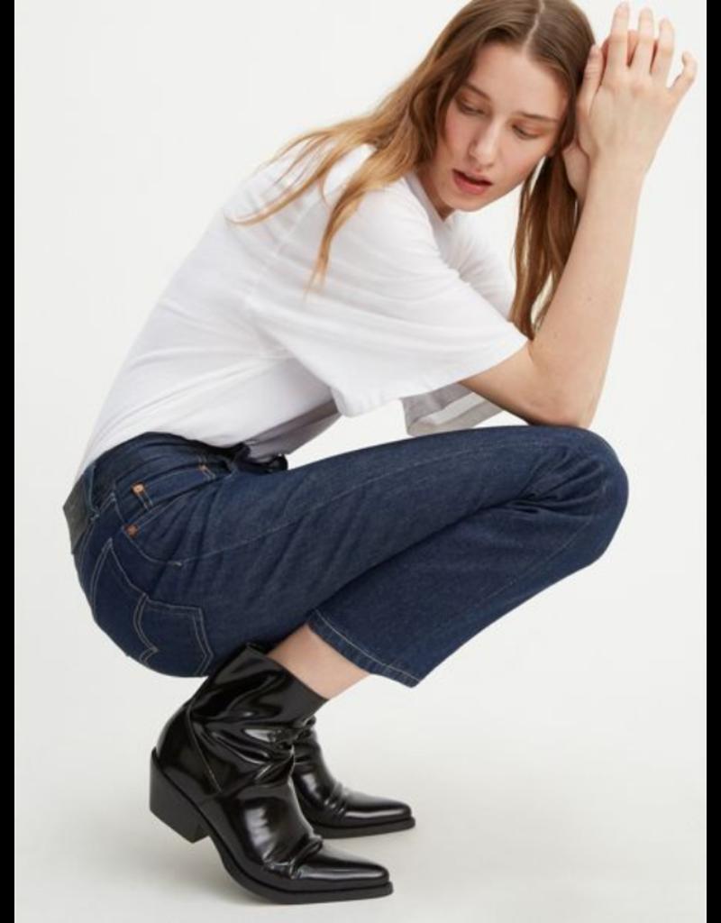 Levi's 501® Original Cropped Jeans Dark Wash