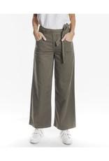 Oat NY Wide Leg Dark Olive Pant