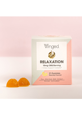 Winged CBD WINGED Relaxation Gummies